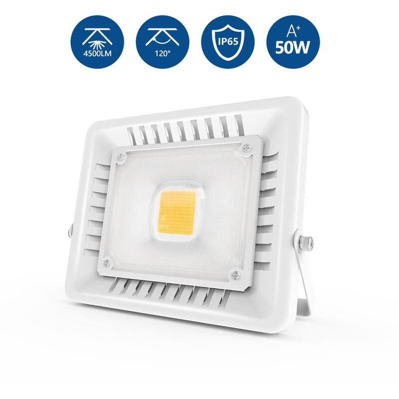 2X LED Fluter Scheinwerfer Strahler Flutlicht Warmweiß Außenstrahler Garten IP65