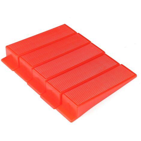 50x Clip / 50x Sistema di livellamento del distanziatore per piastrelle a cuneo