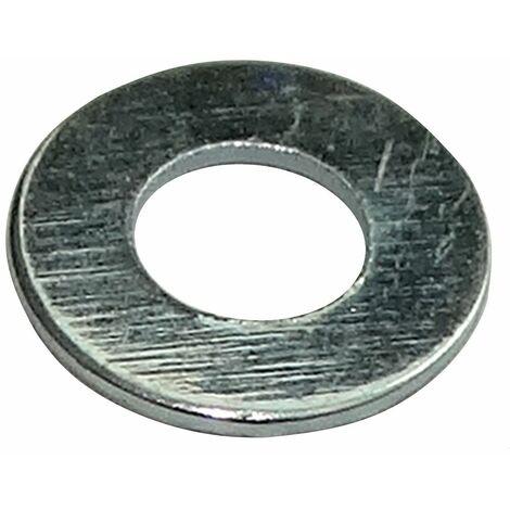 50x rondelle plate M2 Ф5mm H0.3mm DIN125A acier zingué