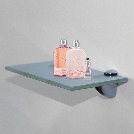 50x10CM Milchglas Regal Glasregal Glasboden Wandregal Badregal Regale Wandregal