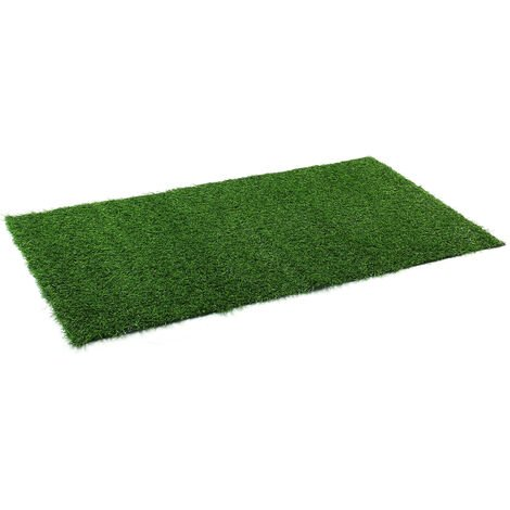 "main image of ""50x200cm Tapis gazon artificiel herbe verte pelouse"""