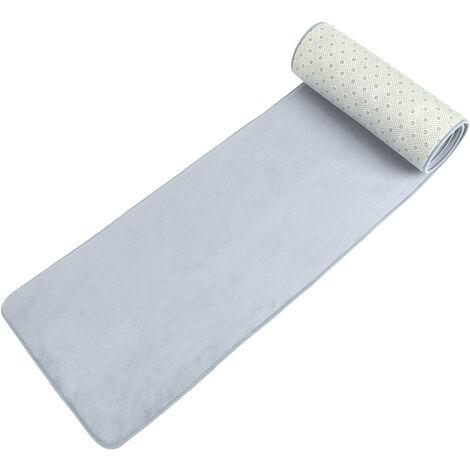 50X240cm tapis antidérapant salon cuisine long couloir étroit couloir tapis tapis tapis (gris)