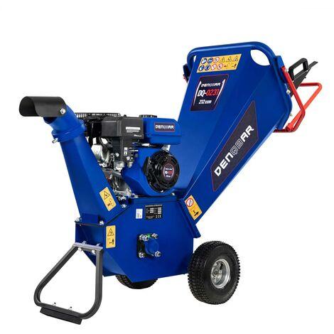 5,1 kW (7 PS) Gartenhäcksler, Gartenschredder mit Benzinmotor