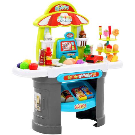 51 Piece Kids' Pretend Shop Play Set 68x25x67.5 cm - Multicolour