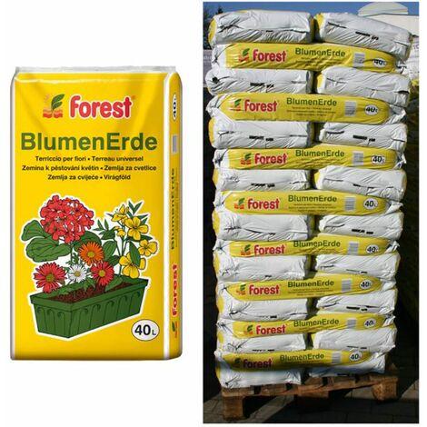 51 Sack Pflanzerde Forest je 40 Liter Blumenerde Gartenerde Erde aus Bayern