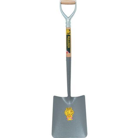 5202 Square Mouth Shovels - Metal D Grip Handle