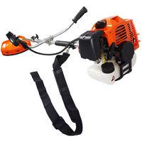 52CC Powerful Petrol Strimmer Brush Cutter Grass Garden Lawn 2 Cutting Tools