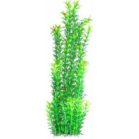 52cm Plante Aquarium Artificielle Plante Aquatique Artificielle Plastique Ornement de décorations d'aquarium 20.5 Pouces (Type A)