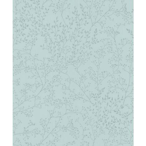5327 - Papier Expansé sur intissé Feuillage Vert