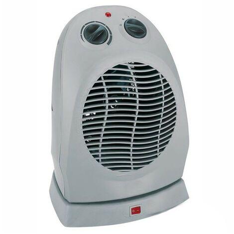 Piccolo basso wattaggio 2000w Ventilatore elettrico oscillante Riscaldatore Mistral