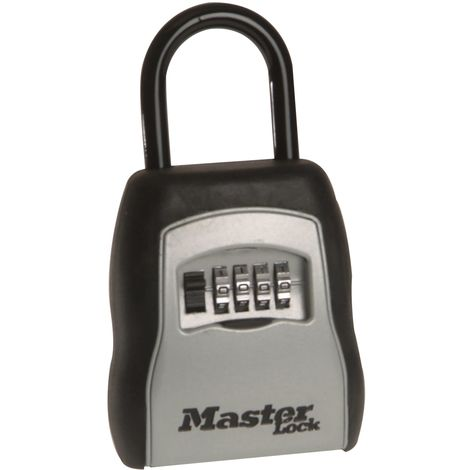 5400E Portable Shackled Combination Key Lock Box (Up To 3 Keys)