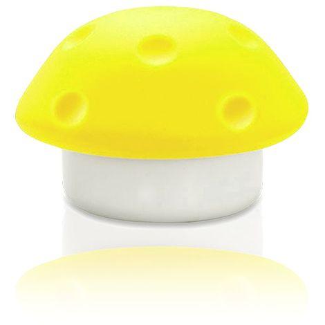 54903 Lampada luce da notte a forma di fungo in silicone per bambini a 3 led