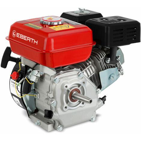 5,5 CV 4,1 kW moteur à essence (19mm Ø arbre conique, indicateur de niveau dhuile bas, 1 cylindre, 163cc de capacité cubique, 4 temps)