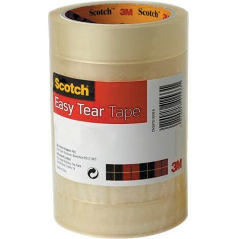 550 Scotch Clear Polypropylene Easy Tear Tapes