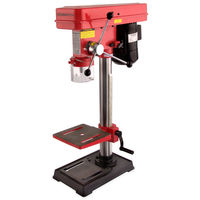 550 Watt Bench Drill Press (60 mm Spindle Travel, 3 - 16 mm Chuck capacity, 5 Speed levels, Tiltable and Swivable Drilling Table)