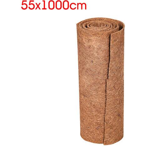 55CMx10M Coco Fiber Liner Roll Basket Flower Basket Flowerpot Hanging Pad