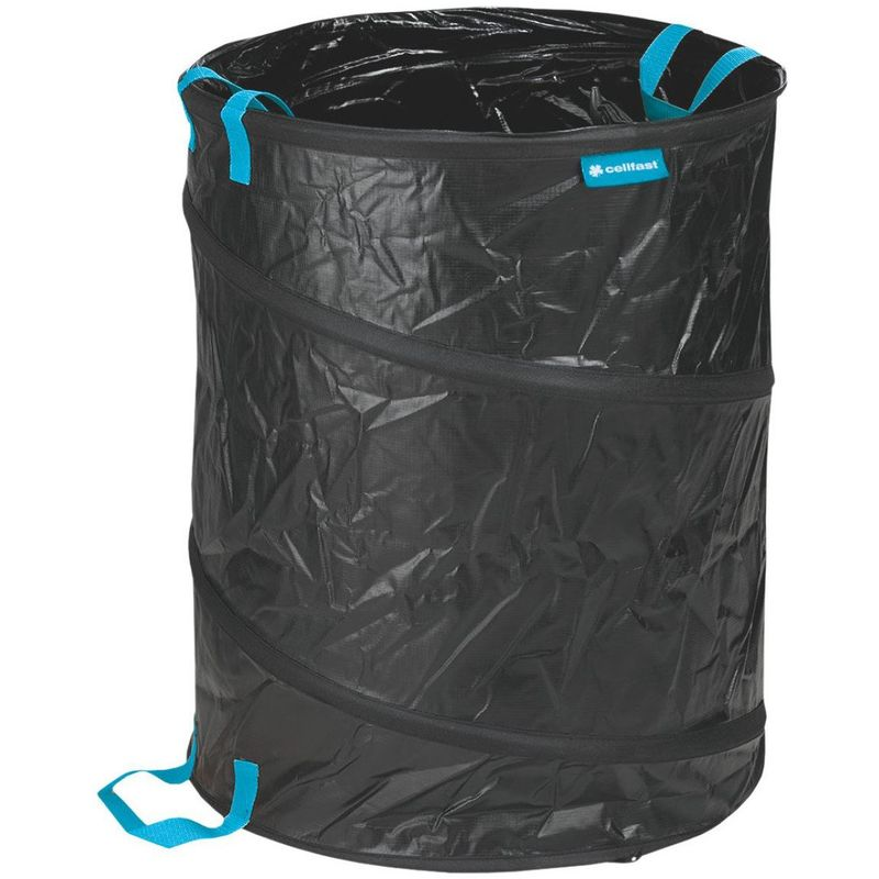 Image of 56 Liters Pop-Up Garden Bag Durable Gardening Folding Basket Gathering Leaves
