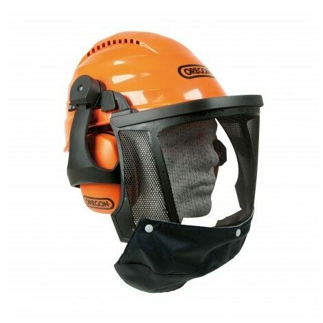 562413 Casque forestier et bucheron Oregon