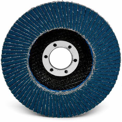 3M 65039 3M 125Mm X 22Mm Flap Disc Flat 566A P80 Dk Blue Plain Max Rpm:12000