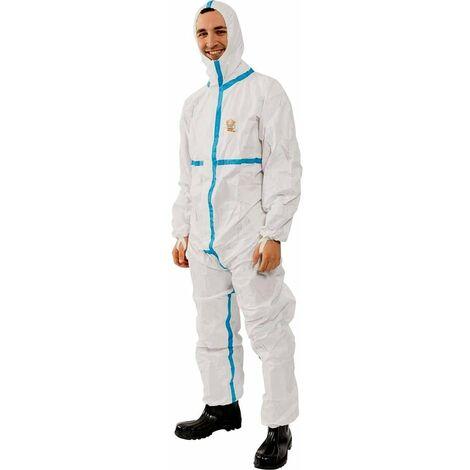 5728 Combinaison de protection PROTEC plus Taille=L blanc