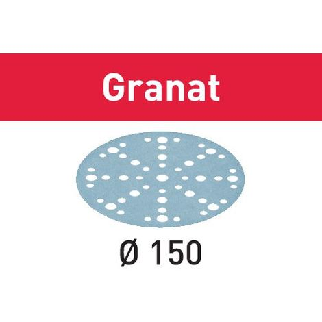 575154 Festool Abrasive sheet STF D150/48 P40 GR/10 Granat