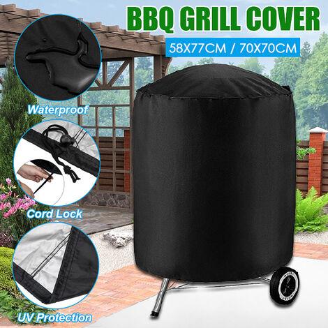 58 * 77cm étanche Weber Barbecue BBQ Cover Grill Protector noir