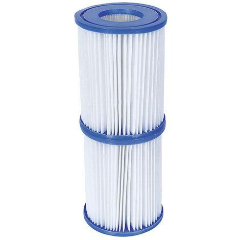 58094 BestWay Filterkartusche Gr.2 Filterpumpe Ersatzfilter Poolfilter Pumpenfilter