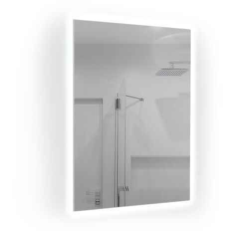 580W Mirrored IR Panel Heater With LED Backlight