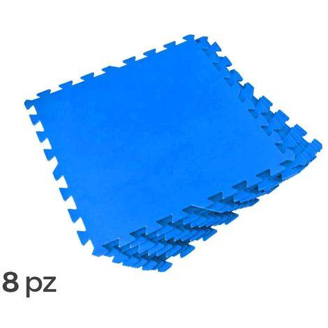 75224bbe70a 58220 Protección modular para piscinas Kit 8 piezas de 50 x 50 cm Bestway