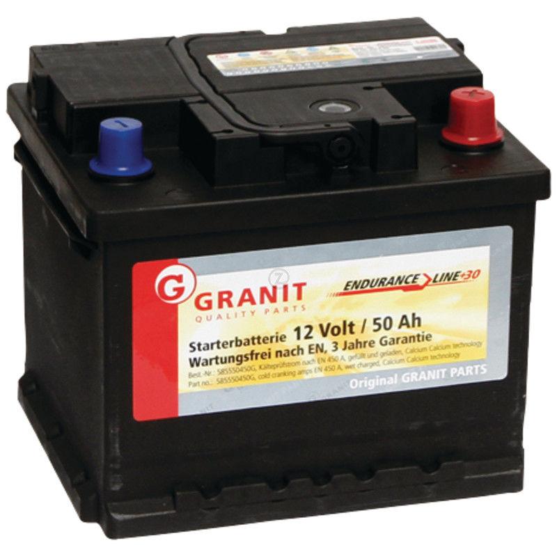 Universel - Batterie 12V 50Ah 450A remplie
