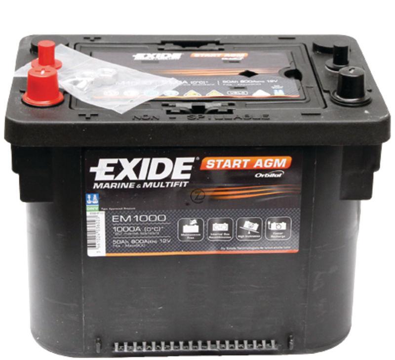 Universel - Batterie Maxxima EM 12V, 50Ah, 1000A