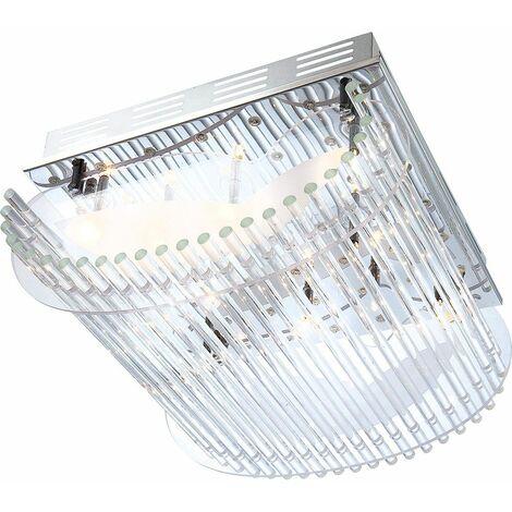 59-hoja lujo sensor de luz de la lámpara de techo escalera de cromo Globo NIMBO 6819-10