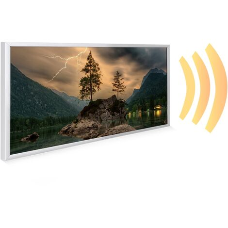 595x1195 Thunder Mountain NXT Gen Infrared Heating Panel 700W - Different Frame Colours Available