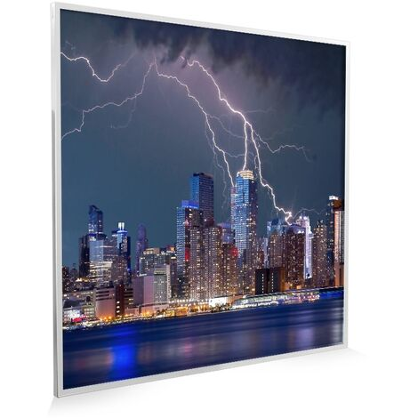 595x595 Thunderstorm NXT Gen Infrared Heating Panel 350w - Different Frame Colours Available