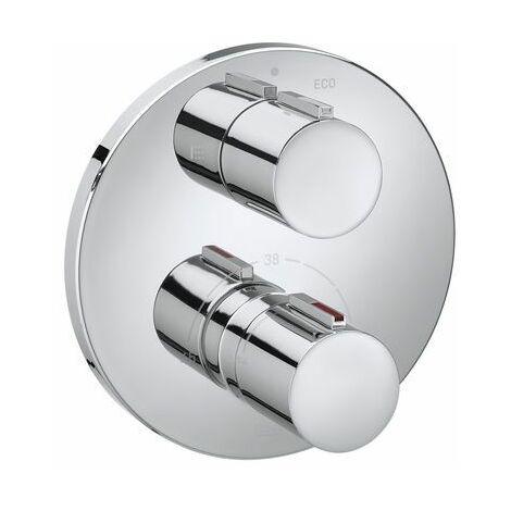 5A0C09C00 Mezclador termostatico.T-1000 ROUND B/D EMP.P/RBX - ROCA SANITARIO,S.A.