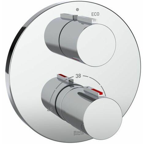 5A2C09C00 Mezclador termostatico.T-1000 ROUND DC.EMP.P/RBX - ROCA SANITARIO,S.A.