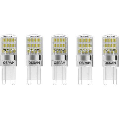 5er Set LED Lampen für 230 Volt mit G9 Sockel
