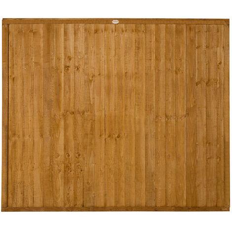 5ft High Closeboard Fence Panel