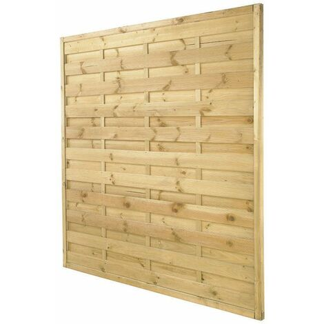 5ft11 (1.8m) High Exeter Fence Panel