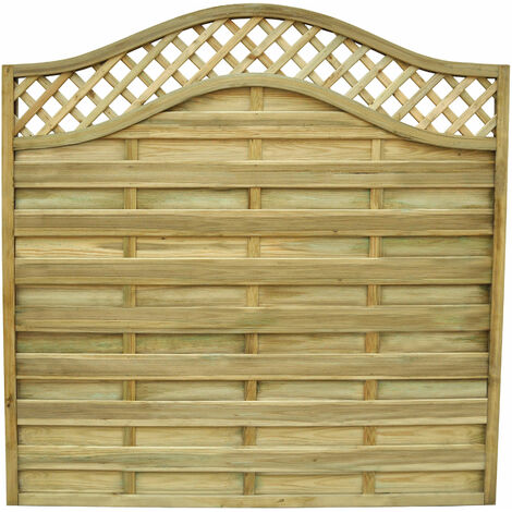 5ft11 (1.8m) High Paloma Screen Fencing Pane