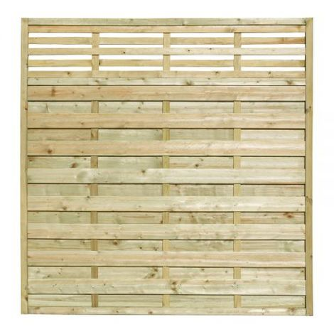 5ft11 (1.8m) High Valencia Fence Panel
