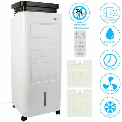 5in1 Aircooler / Klimagerät / Luftreiniger / Luftkühler 5,5 Liter mit Insektenschutzfunktion