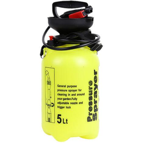5L Hand Powered Sprayer Watering Spraying Sprinkling Can Atomizer