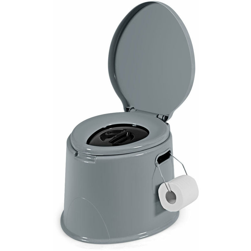 Image of 5L Portable Travel Toilet Lightweight Outdoor Indoor Potty Loo Festival Camping