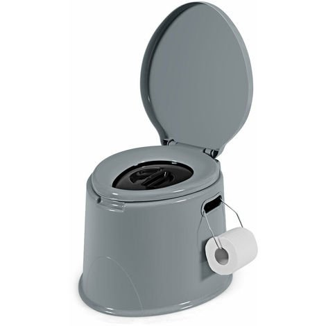5L Portable Travel Toilet Lightweight Outdoor Indoor Potty Loo Festival Camping