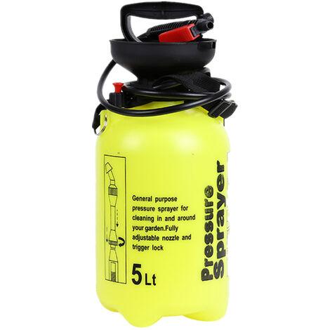 5L Powered Pulverisateur Arrosage Spraying Arrosoir Atomiseur Avec Soupape De Decharge Longue Baguette Tube Reglable Epaule Nettoyage Accueil Jardinage Agricole Arrosage