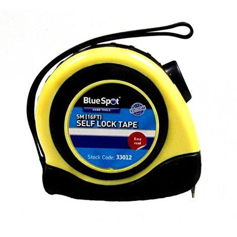 5m/16ft Tape Measure Soft Grip Self-Lock Easy Read Measuring Metric Imperial