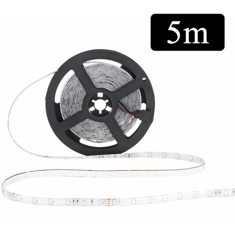 5M 60LED / M RGB LED Light Strip16 couleurs avec télécommande