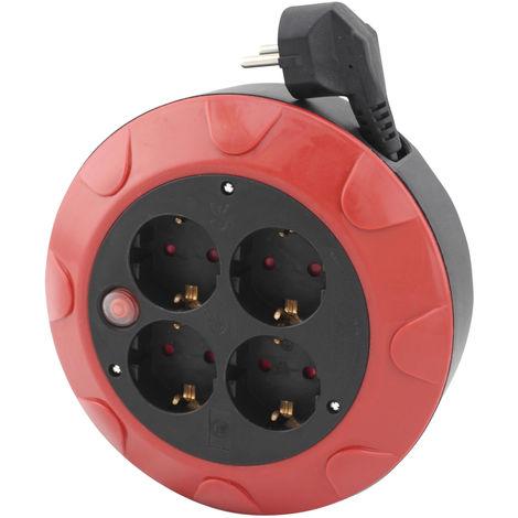5m. extensible eléctrico 4 tomas TTL 16A 3x1mm. IP20 (GSC 0500119)