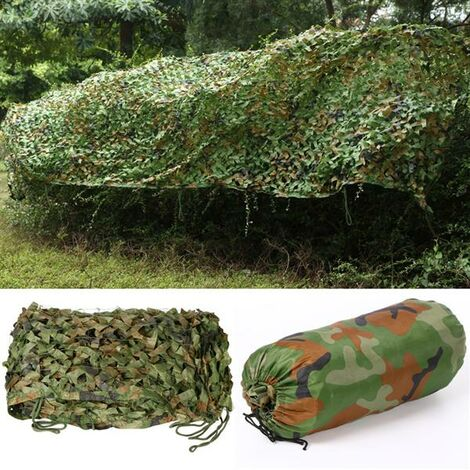 """main image of """"5m x 1.5m/16.4 x 5 ft Army Camouflage Car Net Camo Net Hunting Hide, Shooting Hide,Camping Shelters"""""""
